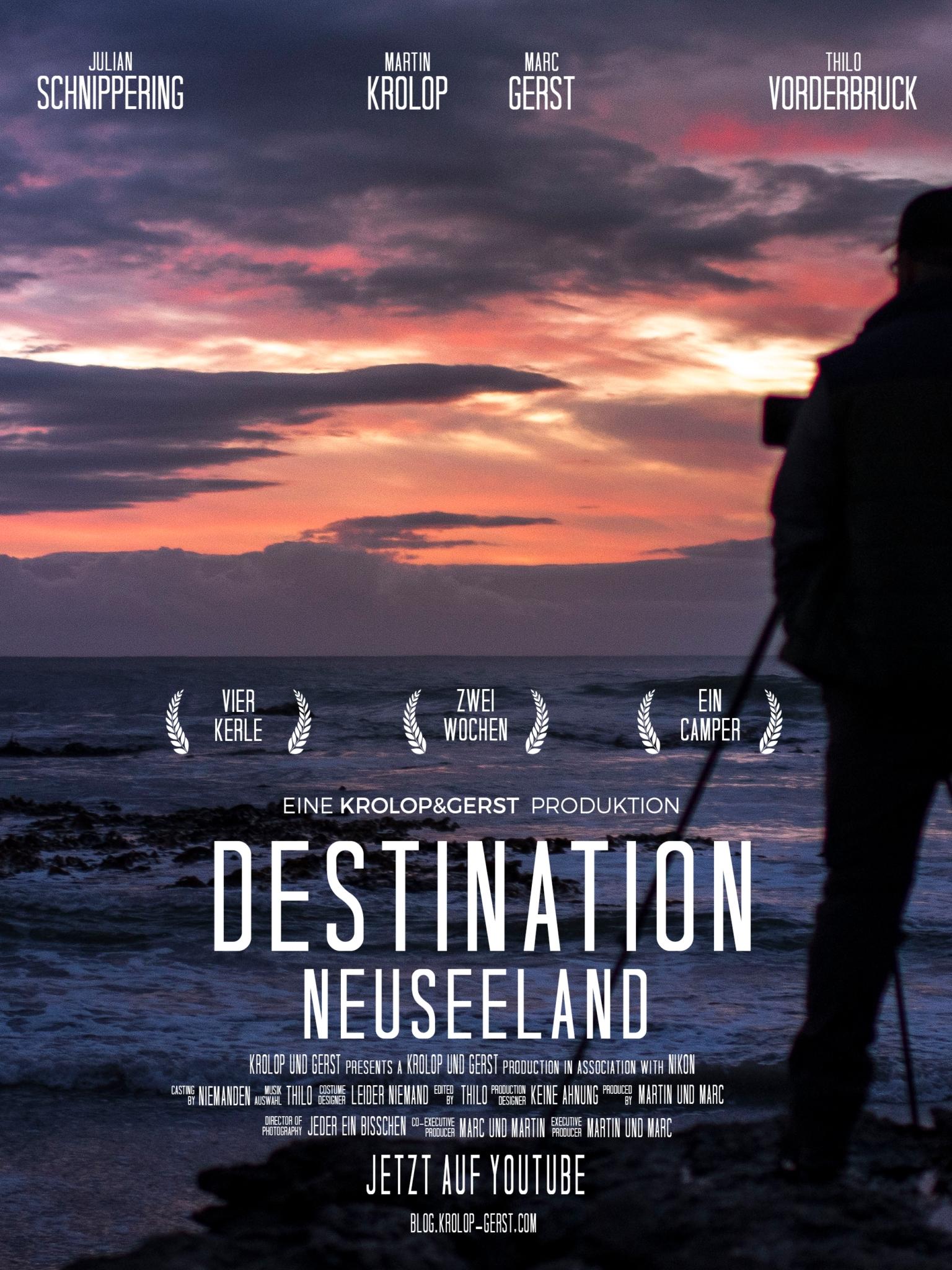DESTINATION NEUSEELAND