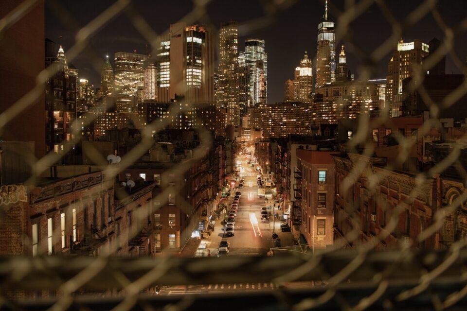 Langzeitbelichtung New York